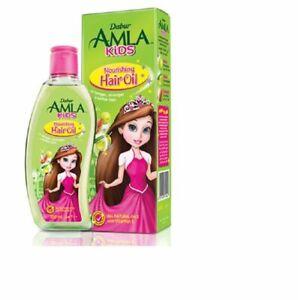 Dabur Amla Kids Nourishing Hair Oil for Long,Soft & Strong Hair 200ml x 2 Bottls