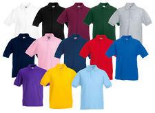 Kurzarm Jungen-T-Shirts & -Polos mit Polokragen ohne Muster