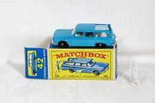 Vintage Lesney Matchbox No 42 Studebaker Stationwagon Boxed