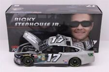 Ricky Stenhouse Autographed Silver Paint Pen 2014 Nationwide Nascar 1/24 Diecast