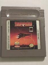 UK Nintendo Gameboy Game Boy GB SPIELKASSETTE nur TURN & BURN F14 Vorgang SIM
