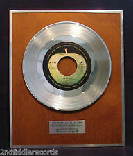 THE BEATLES-Mega Rare Apple EMI Record Award Given To A UK Disc Jockey-LET IT BE
