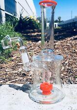 Hookah Water Pipe Matrix Glass 9 inch Bong Smoking Pipe  Heavy Base Assorted