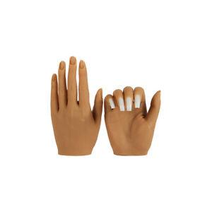 KnowU Silikon Nagel Praxis Hand Links Oder Rechts Kann Aceton Acryl Eingesetzt