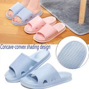 Indoor Shower Bath Slippers Non-Slip Bathroom Sandals Shoes Men women 1 Pair NEW