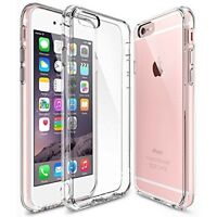For New Apple iPhone 6s / 6 TPU Gel Jelly Skin Bumper Case Cover Crystal Clear