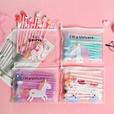 Us 20pcs/lot Cute Office School Accessories 0.5mm Pen Gel Pens + Organizer Bag