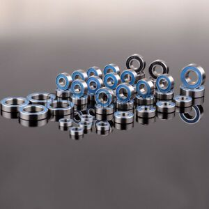 43P Metric Blue Rubber Sealed Ball Bearing Sealed KIT For Rc Car Traxxas Summit