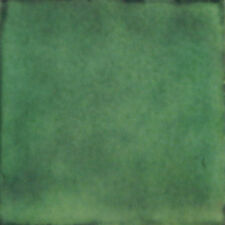 25 Mexican Talavera tiles 4x4 Plain Color Folk Art Washed Green