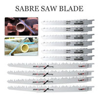 Reciprocating Sabre Saw Blades 150mm+240mm Long High Carbon Steel HCS 10PCS Set
