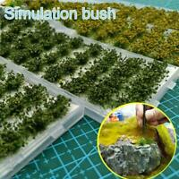 Static Grass Tufts Self-Adhesive Hay Field 28pcs Fit 1:35 to /1:72/1:87 T7E5
