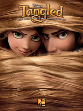 DISNEY TANGLED SOUNDTRACK PIANO VOCAL GUITAR SHEET MUSIC SONG BOOK NEW