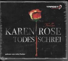 6 CD Karen Rose `Todesschrei` Neu/OVP TARGET - mitten ins Ohr - Thriller