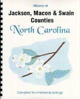 NC Jackson/Macon/Swain County history Smoky Mountains Cherokee North Carolina RP