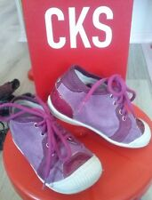 CKS - chaussures fille - TBE - pointure 22