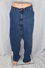 River Road Mens 58x32 Dark Wash Blue Jeans Straight Leg Pants Casual