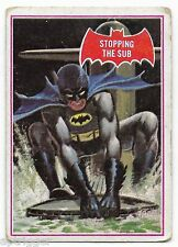 1966 Batman Red Bat (39A) Stopping The Sub - Good