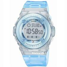 Casio Baby-g Girls Blue Ladies World Time Alarm Llluminator Watch Bg-1302-2er