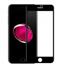 3D FULL COVER PANZERGLAS iPhone 6 iPhone 6S Panzerfolie Gewölbt 4D SCHWARZ