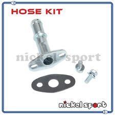 Turbo Oil Drain Return Pipe Kit For Subaru IHI RHF5 RHF5H RHF5HB RHF55 VF22 VF34