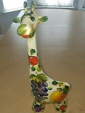 Giraffe Designer Turov ceramic animal art sculpture