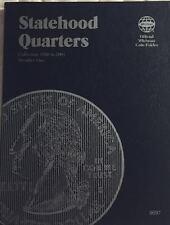 P & D STATEHOOD QUARTERS (1999-2009) 3 FOLDER SET W/ STATE 25 INSIDE STORY BOOK