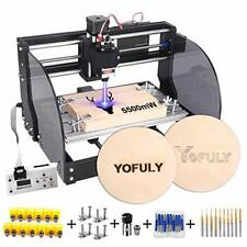 2 In 1 Upgrade 3018 Pro M Cnc Router Kit 5500mw Engraver Grbl Control 3 Axis Pc