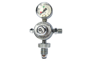 Oxylitre R1610A O2 / Air Regulator 3/8bsp Outlet 11/16 Nut Fitting