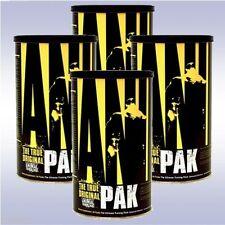 UNIVERSAL NUTRITION ANIMAL PAK (4-PACK: 44 PACKETS EA) multivitamin amino acids