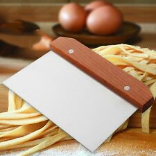 New Dough Scraper Kitchen Pizza Cutter Bread Dessert Steel Chopper Cake Shovel