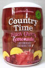 Country Time Black Cherry Lemonade Drink Mix 18.3 oz