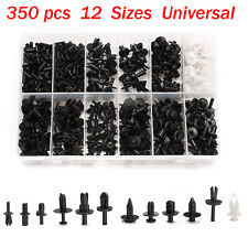 350pcs Car Push Retainer Trim Clip Panel Moulding Pin Rivet Auto Assortment Kit