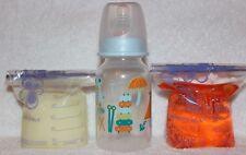 Reborn Sealed Instrument Bottle Bag Fake Formula Milk & Apple Juice OOAK Doll