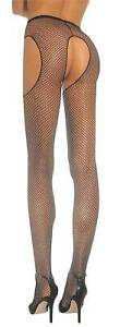 Straps Look Net Tights IN Various Colours