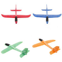 38CM  Foam Airplane Hand Launch Fly Glider Aircraft Throw Plane Model Toy A8A