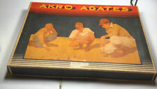 Vintage Akro Agate Box Set No 230. 6 X 8 Inches Absolutely Mint Condition.