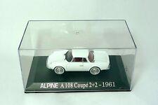 Renault Alpine A108 Coupé 2+2 1961  Renault Collection U-H . Norev. M6 1/43