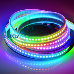 APA102 Smart LED Pixel Strip DATA and CLOCK Seperately DC5V LED Light Strip