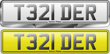 Private cherished personalised registration plate retention doc T321 DER