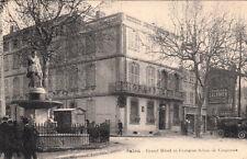SALON grand hôtel et fontaine adam de craponne voiture timbrée 1928