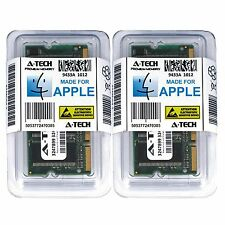 2GB KIT 1GB X2 APPLE iBook PowerBook G4 PC2700 333 Mhz Sodimm Laptop Memory Ram