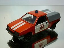 USSR CCCP LADA GAZ 2108/09 FIRE ENGINE - RED 1:43 - FAIR/GOOD CONDITION