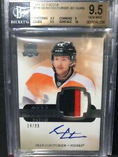 The Cup BGS 9.5 GEM MINT Sean Couturier 10 Auto Rookie Patch #14/99 (# Number #)