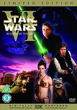 STAR WARS Episode 6 Return of the Jedi 2 Disc Limited Edition + EXTRAS UK R2 DVD