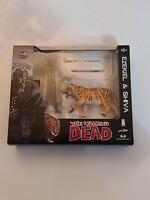 "The Walking Dead EZEKIEL and SHIVA Tiger 5"" Action Figure McFarlane 2014"