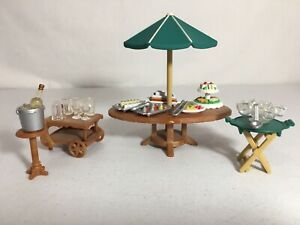 Calico critters/sylvanian families Seaside Birthday Party