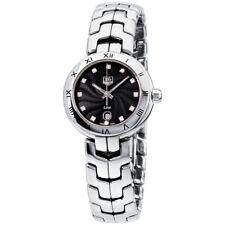 Tag Heuer Link черный циферблат из нержавеющей стали женские часы WAT1410.BA0954
