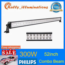 PHILIPS 52Inch 300W Led Off-road Light Flood Spot Offroad Lamp SUV 4WD VS 50/54