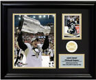 2009 Pittsburg Stanley Cup Game Used Net COA HALO Crosby