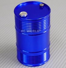 RC 1/10 Scale Accessories METAL ALUMINUM DRUM CONTAINER Liquid Storage BLUE